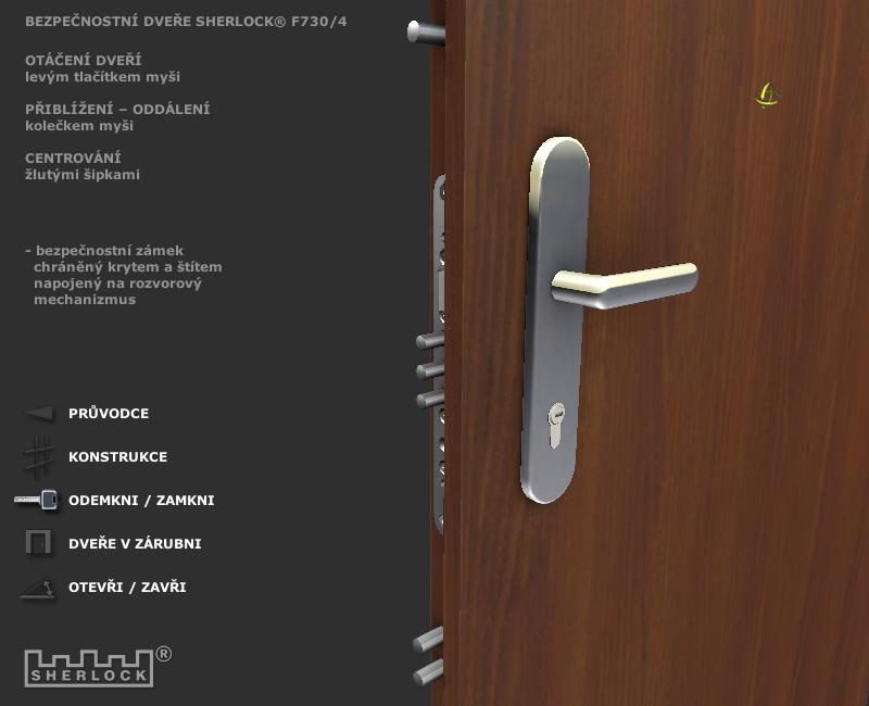 Door1 Door2 Door 3 Door 3 · SHERLOCK Door & Sherlock Door
